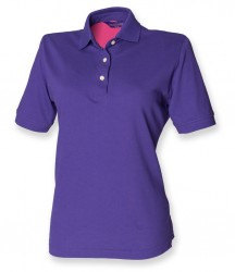 Image 5 of Henbury Ladies Classic Cotton Piqué Polo Shirt
