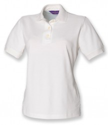 Image 6 of Henbury Ladies Classic Cotton Piqué Polo Shirt