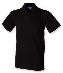 Henbury Stretch Cotton Piqué Polo Shirt image
