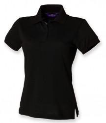 Henbury Ladies Stretch Cotton Piqué Polo Shirt image