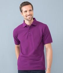 Henbury Heavy Poly/Cotton Piqué Polo Shirt image