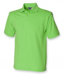 Image 14 of Henbury Heavy Poly/Cotton Piqué Polo Shirt