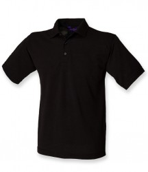 Image 15 of Henbury Heavy Poly/Cotton Piqué Polo Shirt