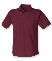 Image 16 of Henbury Heavy Poly/Cotton Piqué Polo Shirt