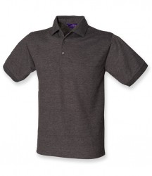 Image 17 of Henbury Heavy Poly/Cotton Piqué Polo Shirt