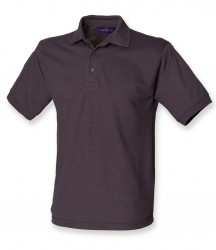 Image 11 of Henbury Heavy Poly/Cotton Piqué Polo Shirt