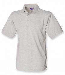 Image 19 of Henbury Heavy Poly/Cotton Piqué Polo Shirt