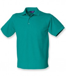 Image 2 of Henbury Heavy Poly/Cotton Piqué Polo Shirt