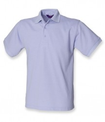 Image 3 of Henbury Heavy Poly/Cotton Piqué Polo Shirt