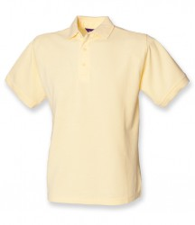 Image 4 of Henbury Heavy Poly/Cotton Piqué Polo Shirt