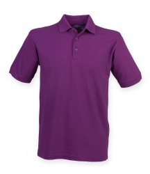 Henbury Heavy Poly/Cotton Piqué Polo Shirt image