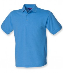 Image 6 of Henbury Heavy Poly/Cotton Piqué Polo Shirt