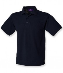 Image 10 of Henbury Heavy Poly/Cotton Piqué Polo Shirt