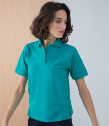Henbury Ladies Poly/Cotton Piqué Polo Shirt image