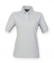 Image 6 of Henbury Ladies Poly/Cotton Piqué Polo Shirt