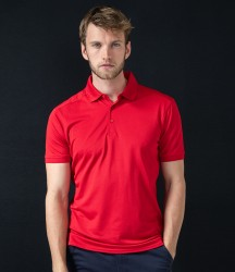 Henbury Stretch Microfine Piqué Polo Shirt image
