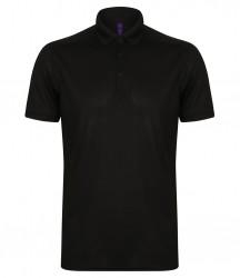 Henbury Stretch Microfine Piqué Polo Shirt image