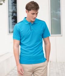 Henbury Coolplus® Anti-Bac Textured Piqué Polo Shirt image