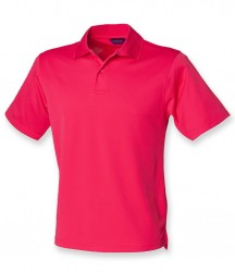 Image 14 of Henbury Coolplus® Wicking Piqué Polo Shirt