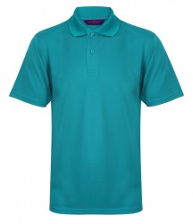 Henbury Coolplus® Wicking Piqué Polo Shirt image