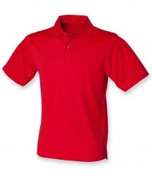 Image 9 of Henbury Coolplus® Wicking Piqué Polo Shirt