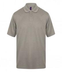 Image 2 of Henbury Coolplus® Wicking Piqué Polo Shirt