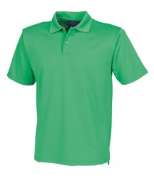Image 4 of Henbury Coolplus® Wicking Piqué Polo Shirt