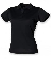 Image 13 of Henbury Ladies Coolplus® Wicking Piqué Polo Shirt