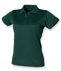 Image 15 of Henbury Ladies Coolplus® Wicking Piqué Polo Shirt