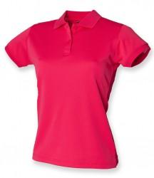 Image 5 of Henbury Ladies Coolplus® Wicking Piqué Polo Shirt