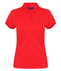 Image 6 of Henbury Ladies Coolplus® Wicking Piqué Polo Shirt