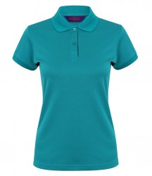 Henbury Ladies Coolplus® Wicking Piqué Polo Shirt image