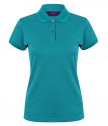Henbury Ladies Coolplus® Wicking Piqué Polo Shirt image
