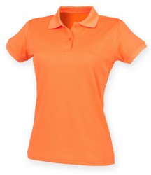 Image 8 of Henbury Ladies Coolplus® Wicking Piqué Polo Shirt
