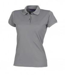 Image 10 of Henbury Ladies Coolplus® Wicking Piqué Polo Shirt
