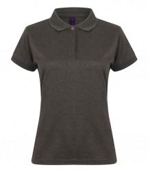 Image 12 of Henbury Ladies Coolplus® Wicking Piqué Polo Shirt
