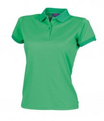 Image 17 of Henbury Ladies Coolplus® Wicking Piqué Polo Shirt