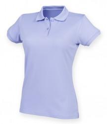 Image 18 of Henbury Ladies Coolplus® Wicking Piqué Polo Shirt