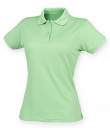 Image 20 of Henbury Ladies Coolplus® Wicking Piqué Polo Shirt