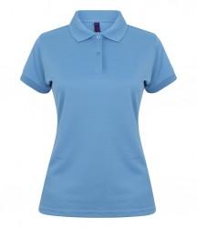 Image 21 of Henbury Ladies Coolplus® Wicking Piqué Polo Shirt