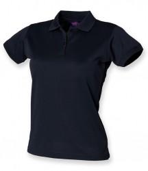 Image 22 of Henbury Ladies Coolplus® Wicking Piqué Polo Shirt
