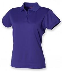Image 25 of Henbury Ladies Coolplus® Wicking Piqué Polo Shirt