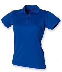 Image 26 of Henbury Ladies Coolplus® Wicking Piqué Polo Shirt