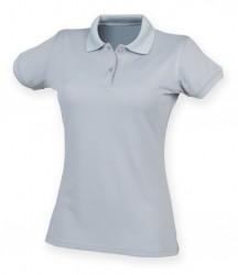 Image 28 of Henbury Ladies Coolplus® Wicking Piqué Polo Shirt