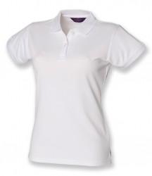 Image 3 of Henbury Ladies Coolplus® Wicking Piqué Polo Shirt
