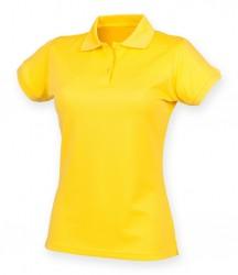 Image 4 of Henbury Ladies Coolplus® Wicking Piqué Polo Shirt