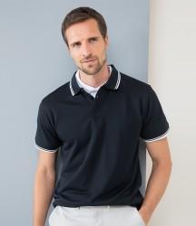Henbury Coolplus® Tipped Polo Shirt image