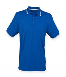 Image 5 of Henbury Coolplus® Tipped Polo Shirt
