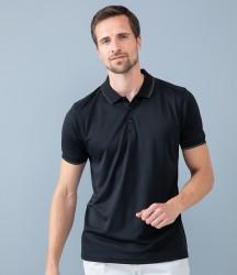 Henbury HiCool® Tipped Polo Shirt image