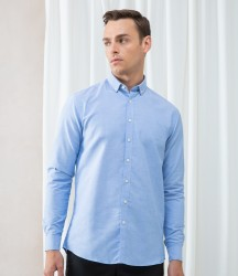 Henbury Modern Long Sleeve Regular Fit Oxford Shirt image